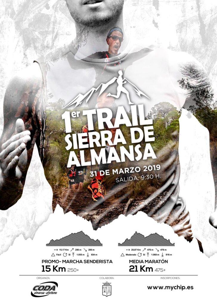 Cartel 1 Trail Ciudad de Almansa
